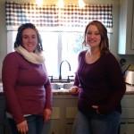 Amanda Crane and Lacey Clark