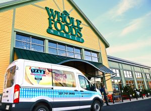 Izzy's Cheesecake - Van at Whole Foods