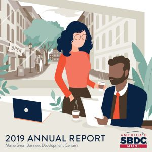 Maine SBDC Annual Report Cover