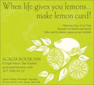Acacia House Inn - Flyer