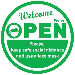 Maine SBDC - Mask Signage