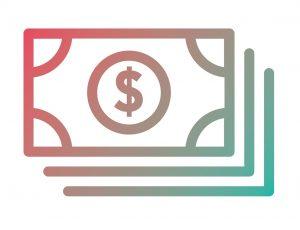cash icon, local relief programs