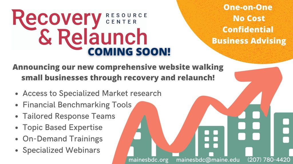 Recovery & Relaunch Coming Soon Image