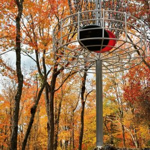 Circle Two Disc Golf - Course Basket