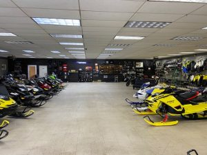 Mountain Side Power Sports - Inside