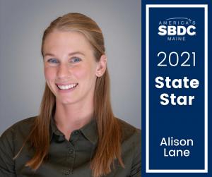 Alison Lane - Maine SBDC 2021 State Star