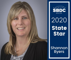 Shannon Byers - Maine SBDC 2020 State Star